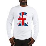 Union Jack Pound Long Sleeve T-Shirt