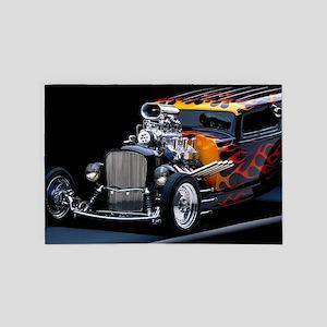 Hot Rod 4' x 6' Rug