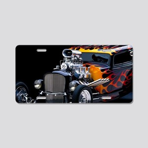 Hot Rod Aluminum License Plate