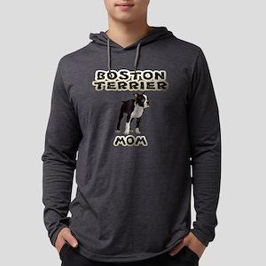 Boston Terrier Mom Long Sleeve T-Shirt