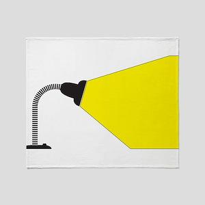 Flexible Desk Lamp Shine Throw Blanket