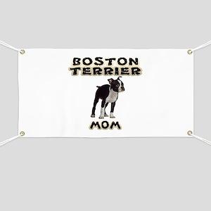 Boston Terrier Mom Banner