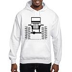 BIG WHEELS Hooded Sweatshirt