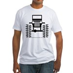 BIG WHEELS Fitted T-Shirt