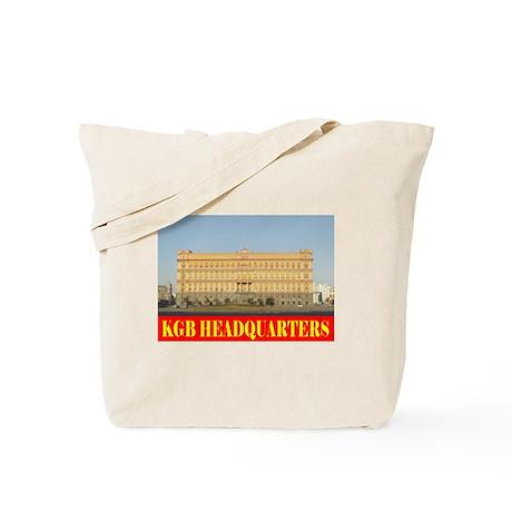 KGB Headquarters Tote Bag