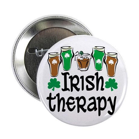 """Irish Therapy 2.25"""" Button (10 pack)"""