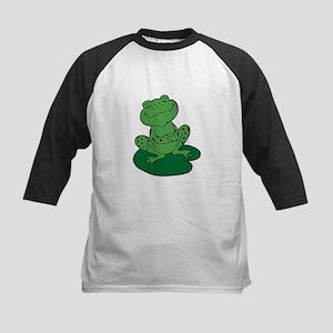 Frog on a Lilypad Baseball Jersey