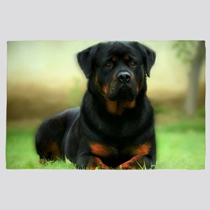 Rottweiler 4' x 6' Rug