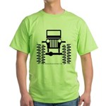 BIG WHEELS Green T-Shirt