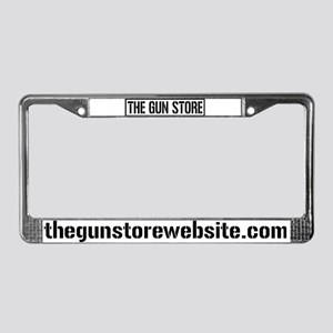 The Gun Store License Plate Frame