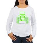 colors big wheel Women's Long Sleeve T-Shirt