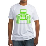 colors big wheel Fitted T-Shirt
