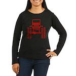 red big wheel Women's Long Sleeve Dark T-Shirt