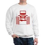 red big wheel Sweatshirt