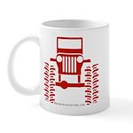 red big wheel Mug