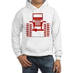 red big wheel Hooded Sweatshirt