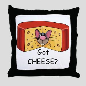 Got Cheese? Throw Pillow
