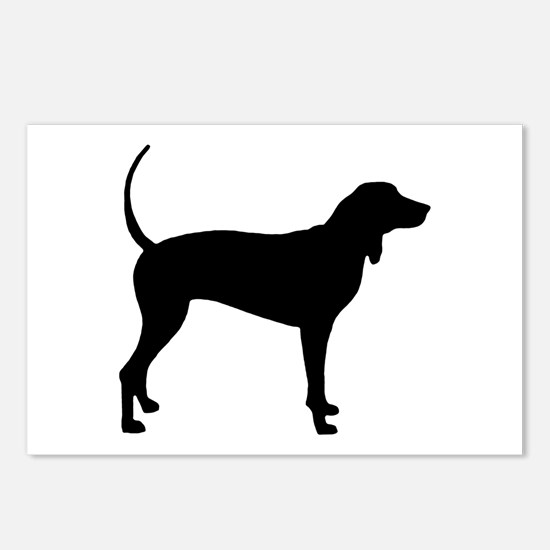 Coonhound Postcards (Package of 8)