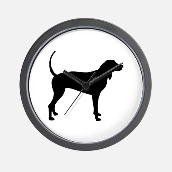 Coonhound Wall Clock