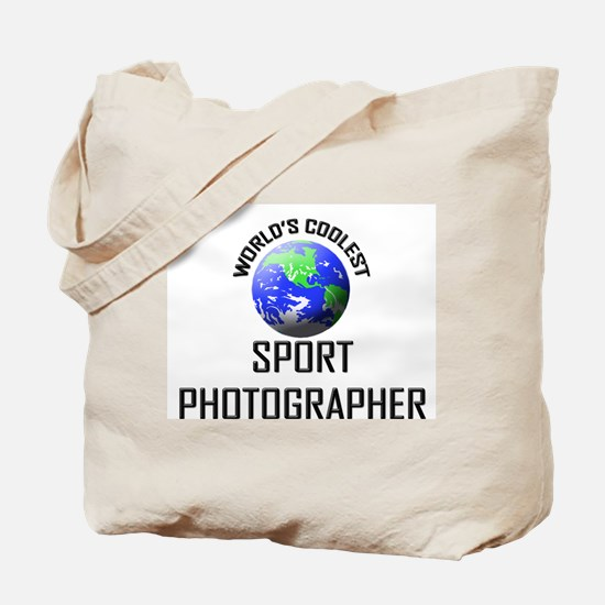 World's Coolest SPORT PHOTOGRAPHER Tote Bag