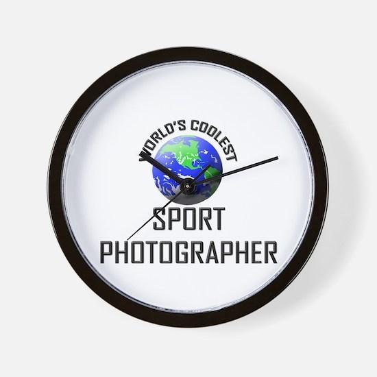 World's Coolest SPORT PHOTOGRAPHER Wall Clock