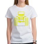 Yellow big wheel Women's T-Shirt