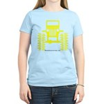 Yellow big wheel Women's Light T-Shirt