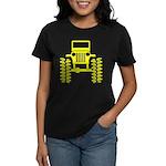 Yellow big wheel Women's Dark T-Shirt