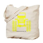 Yellow big wheel Tote Bag