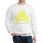 Yellow big wheel Sweatshirt