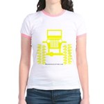 Yellow big wheel Jr. Ringer T-Shirt