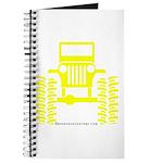Yellow big wheel Journal