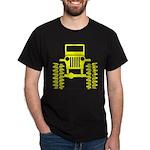 Yellow big wheel Dark T-Shirt