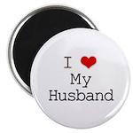 I Heart My Husband Magnet