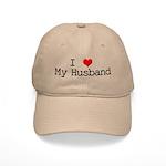 I Heart My Husband Cap