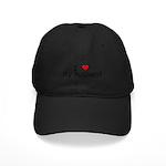 I Heart My Husband Black Cap