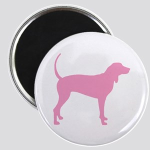 Pink Coonhound Magnet