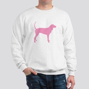 Pink Coonhound Sweatshirt