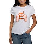 orange big wheel Women's T-Shirt