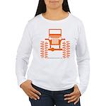 orange big wheel Women's Long Sleeve T-Shirt