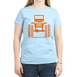 orange big wheel Women's Light T-Shirt