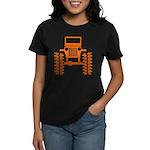 orange big wheel Women's Dark T-Shirt