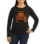 orange big wheel Women's Long Sleeve Dark T-Shirt