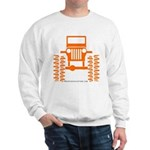 orange big wheel Sweatshirt