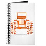 orange big wheel Journal