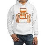 orange big wheel Hooded Sweatshirt