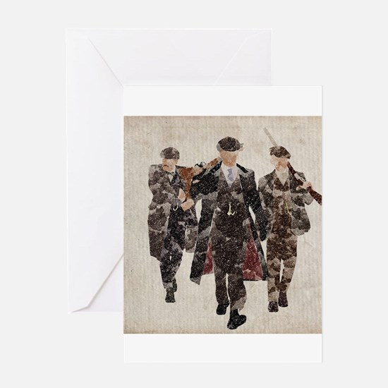 Shelby Boys (Peaky Blinders) Greeting Cards