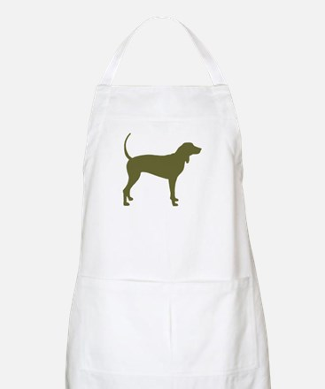 Olive Coonhound BBQ Apron