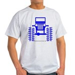 blue big wheel Light T-Shirt