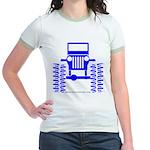 blue big wheel Jr. Ringer T-Shirt